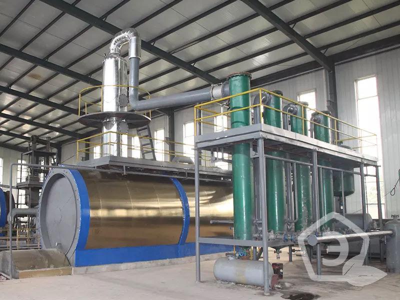 завод по утилизации масла